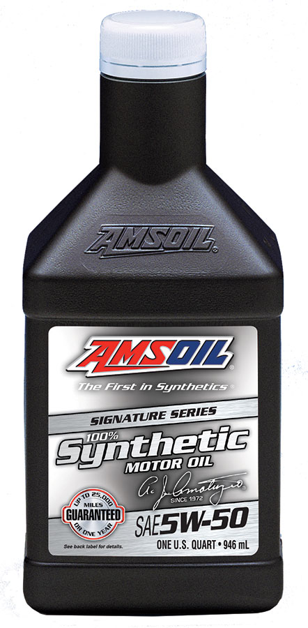 AMSOIL 5W-50 Signature Series synthetic oil