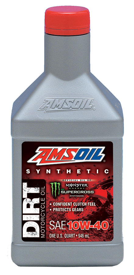 AMSOIL 10W-40 DB40 synthetic motorcycle dirt bike oil