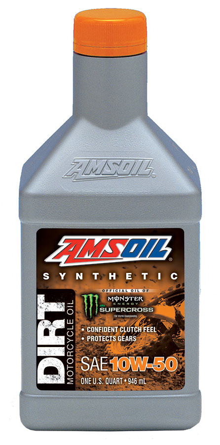 AMSOIL 10W-50 DB50 synthetic motorcycle dirt bike oil