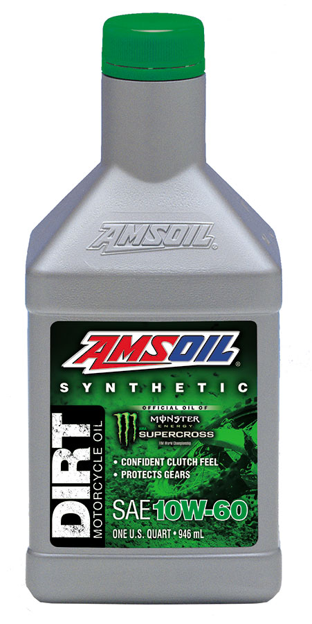 AMSOIL 10W-60 DB60 synthetic motorcycle dirt bike oil