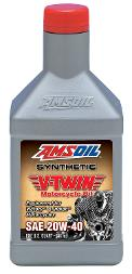 AMSOIL 20W-40 V-Twin synthetic motorcycle oil
